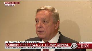 Senator Dick Durbin Fires Back At Trump Denial