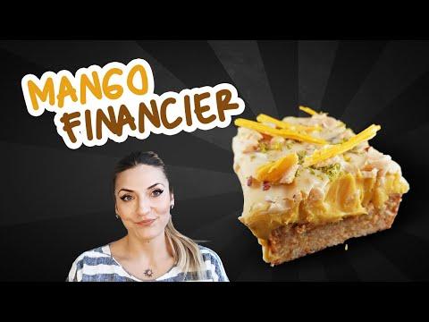 How to Make Mango Financier   Chocolate Coated Financier