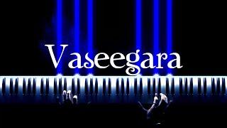 Vaseegara (Zara Zara) - Piano Cover