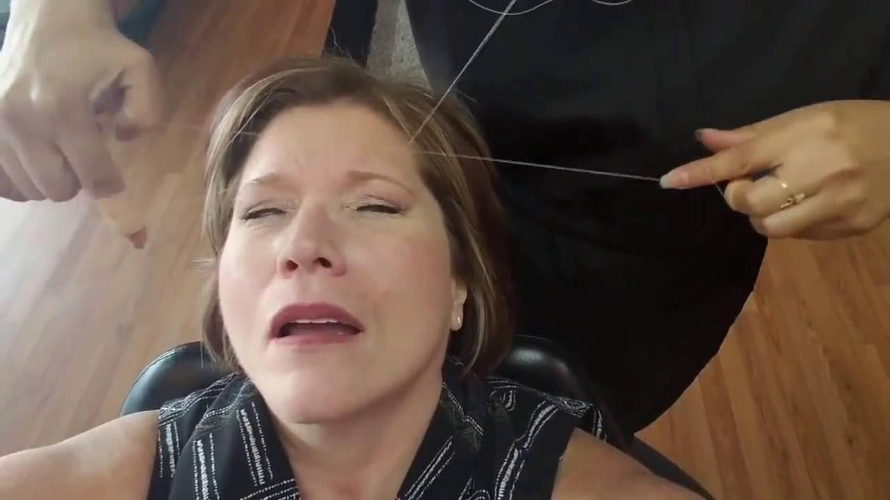 Newrain Eyebrow Threading Youtube