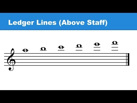 Lesson 4: Ledger Lines / Musical Alphabet / Octaves