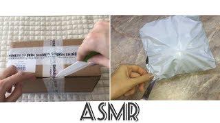 ASMR Unboxing АСМР Распаковка 2 посылок с шёпотом AliExpress и Holy Land ШУРШАНИЕ УПАКОВКИ