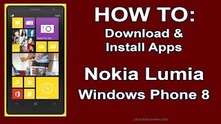 Download lagu How to: Download & Install Apps Nokia Lumia Windows Phone