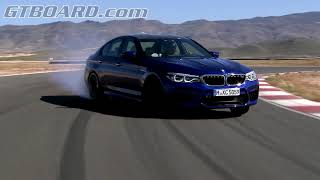 POWERSLIDES F90 BMW M5 on track. SOUND!