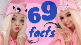 69 faktów o mnie *BARDZO SZCZERE*