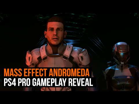 Mass Effect Andromeda gameplay reveal on PS4 Pro in 4K