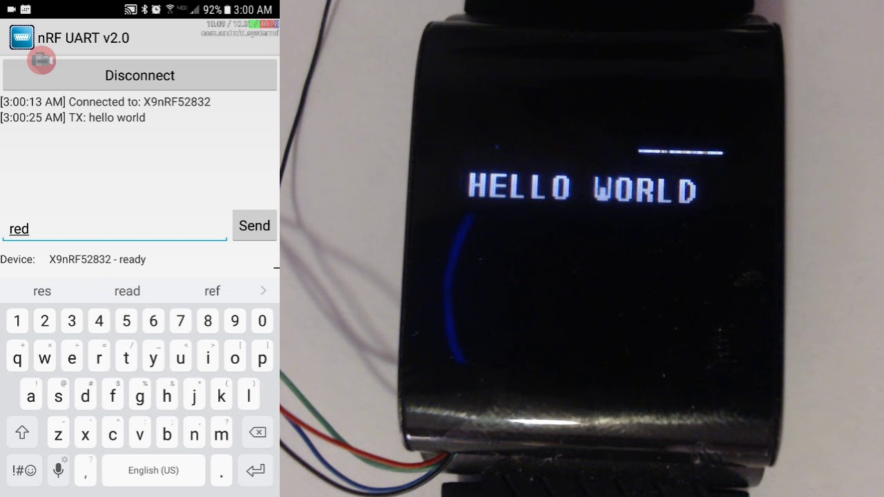 Text Communication over Bluetooth Serial Example | Details | Hackaday io