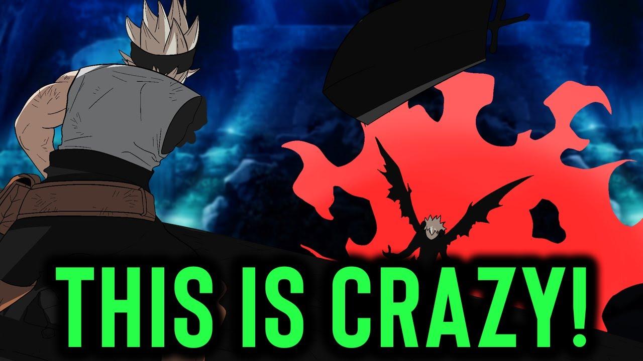 Asta Destroys His Devil Asta Vs Liebe Devil Training Black Clover Youtube