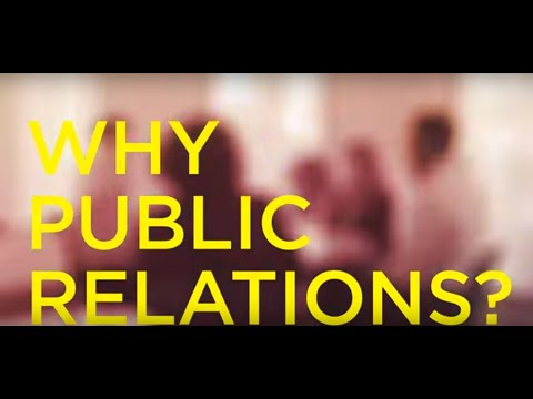 Why Public Relations?