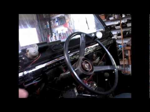Gettin' Ready To Put The Dash In The Jeep CJ7