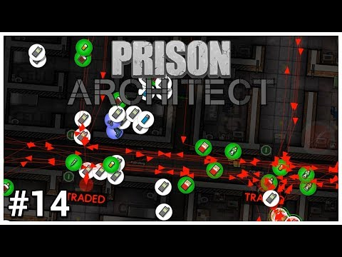 Prison Architect - #14 - Uncontrolled Contraband - Let's Play / Gameplay / Construction