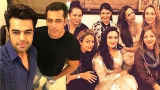 Salman khan's eid party 2017 at his house galaxy apartments in bandra