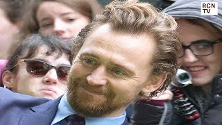 Tom Hiddleston Meets Fans At Early Man Premiere