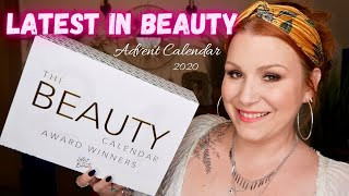 LATEST IN BEAUTY ADVENT CALENDAR 2020 FULL UNBOXING + £10 OFF CODE !