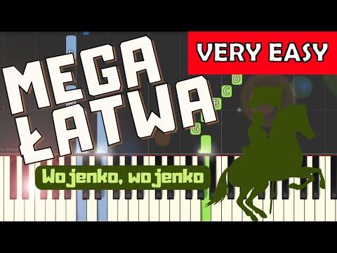 🎹 Wojenko, Wojenko - Piano Tutorial (MEGA ŁATWA wersja) 🎹
