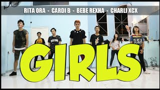 GIRLS LIKE YOU DANCE CHOREOGRAPHY - RITA ORA - CARDI B - BEBE REXHA - CHARLIE XCX