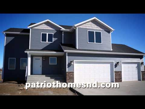 Patriot homes new home construction bismarck nd fall for Nd home builders