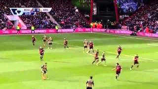 Arsenal vs AFC Bournemouth 2-0 All Goals & Full Match Highlights 07/02/2016