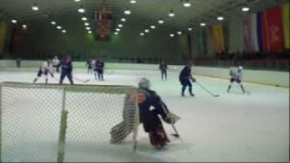 Любительский хоккей.