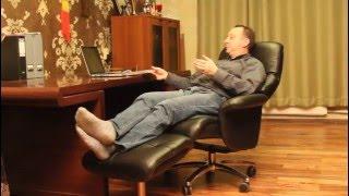 Кресло-реклайнер Relax Boss для кабинета(, 2015-12-24T18:18:11.000Z)