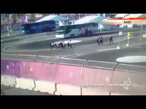 Видео ужасного ДТП в Баку: автобус раздавил спортсменок - Чрезвычайные новости. ИТОГИ, 13.06