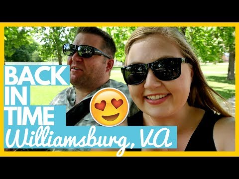 GOING BACK IN TIME 😍 Exploring Colonial Williamsburg, Virginia 🚌Full Time RV Living