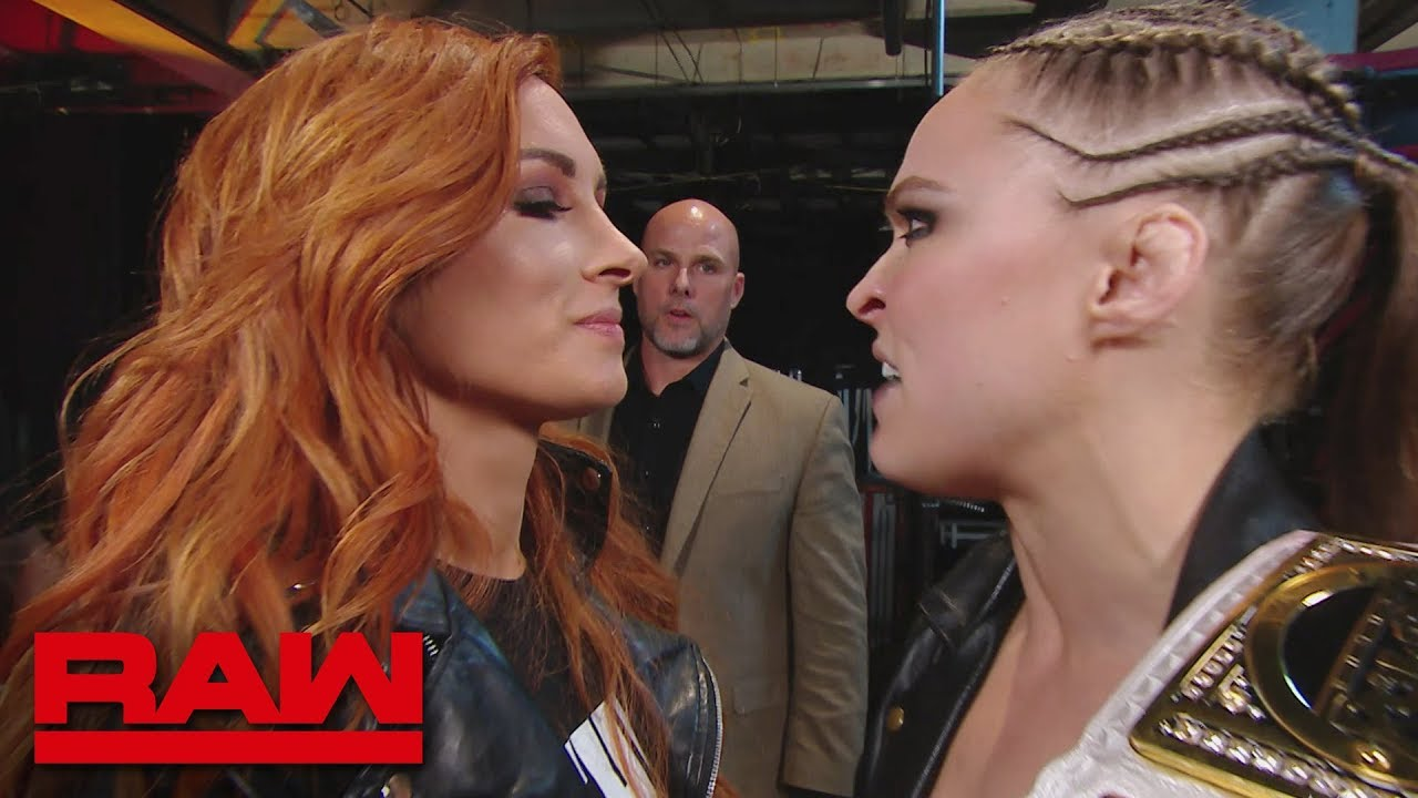 Becky Lynch is forced out of the arena: Raw, Feb. 4, 2019