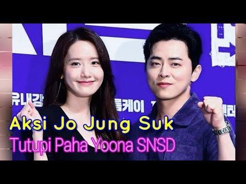 Aksi Jo Jung Suk Relakan Blazer Untuk Tutupi Paha Yoona SNSD Jadi Perbincangan