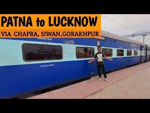 Patna to Lucknow Full train journey in AC  chair car | Patliputra Lucknow Express | #travellerrishi