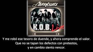 Aventura - El Perdedor (lyric - letra)