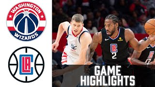 Wizards vs Clippers HIGHLIGHTS Full Game | NBA February 23