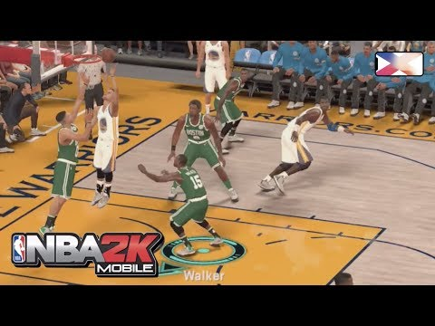 NBA 2K MOBILE BASKETBALL - Season 13 Finals Game vs Golden State Warriors All-Diamond Team