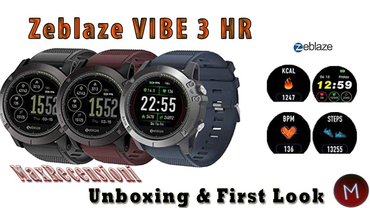 Zeblaze Vibe 3 Hr Smartwatch Con Cardio A 30