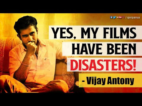 Yes, My Films have been Disasters | In Conversation with Vijay Antony | Open Pannaa