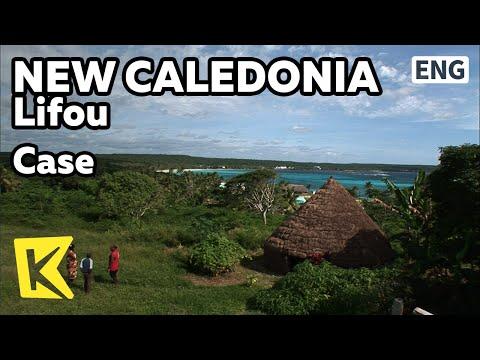 【K】NewCaledonia Travel-Lifou[뉴칼레도니아 여행-리푸]원주민 전통 가옥, 캬즈/Case/Native/House