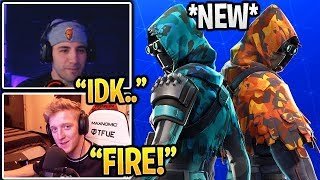 "LOS STREAMERS REACT A *NUEVO* PIEL ""LONGSHOT & INSIGHT"" Fortnite (ITEM SHOP 15)"