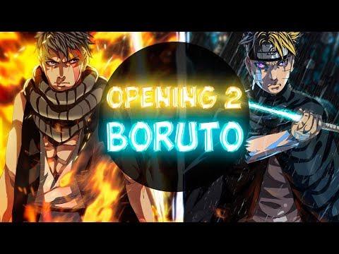 Boruto Opening 2 FULL (Little Glee Monster - OVER)