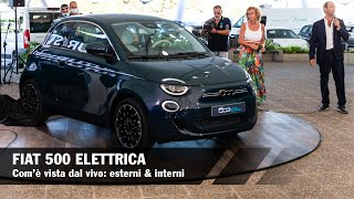 New Fiat 500e: how does it look in live | Exterior & Interior (ENG SUBS)