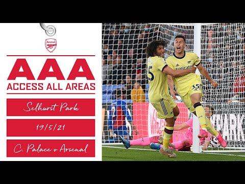 ACCESS ALL AREAS | Crystal Palace vs Arsenal (1-3) | Premier League