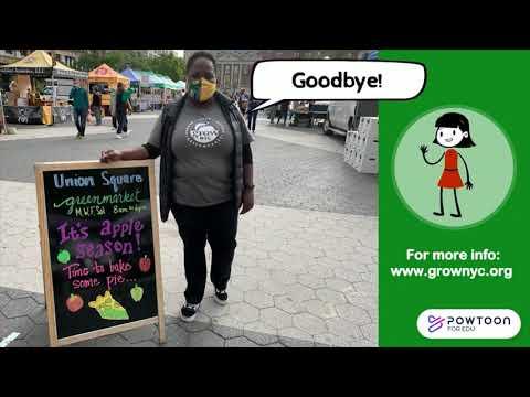Virtual field trip to the Union Square Greenmarket