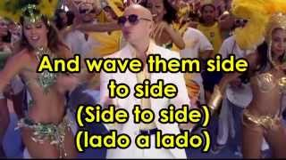 Pitbull - We Are One ft. Jennifer Lopez and Claudia Leitte (karaoke instrumental with lyrics)