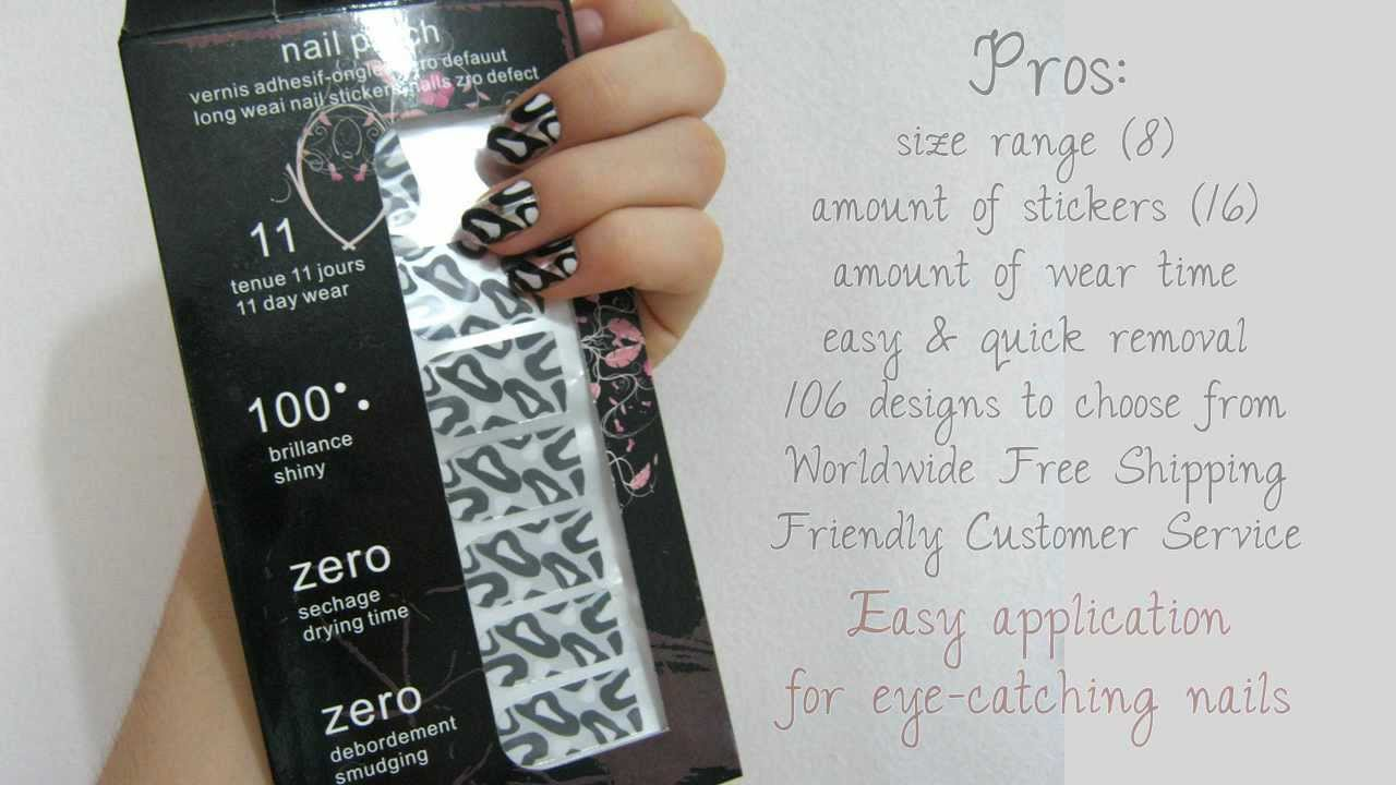 Nail foil stickers: Review, Coupon, & Tutorial - YouTube
