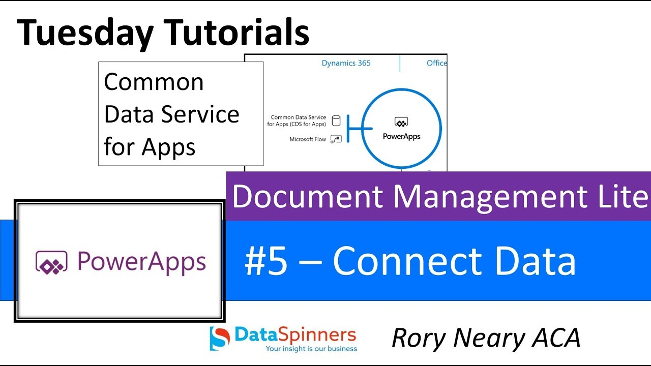 Document Management #5 Connecting to CDS App – TDG