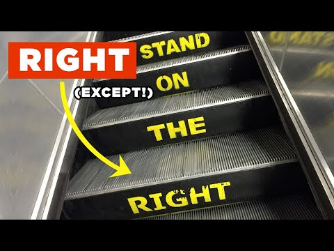 Escalators: We're Not Doing it Wrong (Mostly)