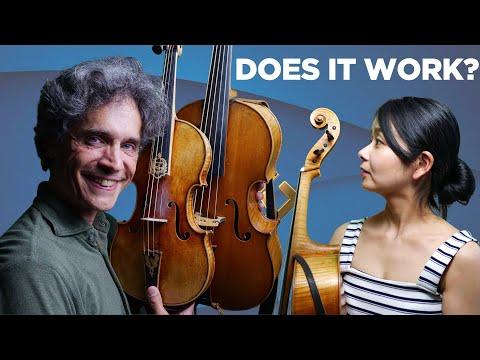 Baroque Violin + Violoncello Da Spalla