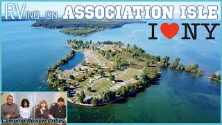 RVing On ASSOCIATION ISLAND | Henderson Harbor | Sackets Harbor | Clayton NY