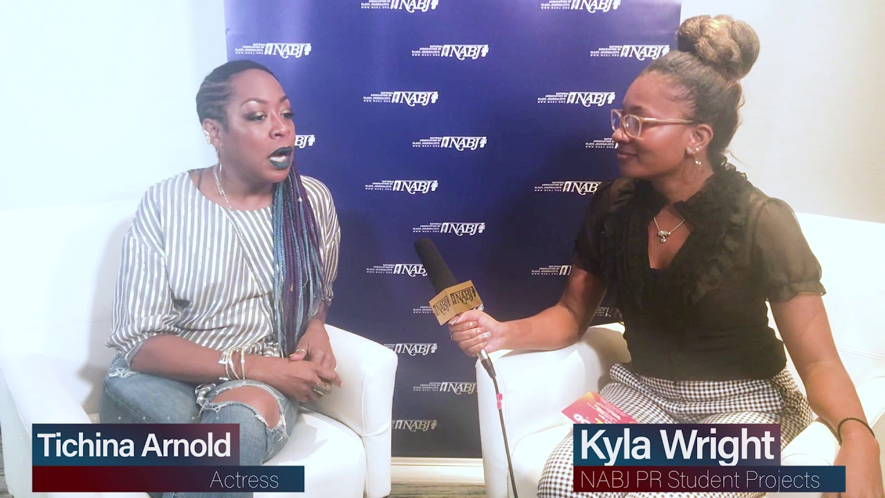 "#NABJ18: Tichina Arnold chats with NABJ about her new show ""The Neighborhood."""