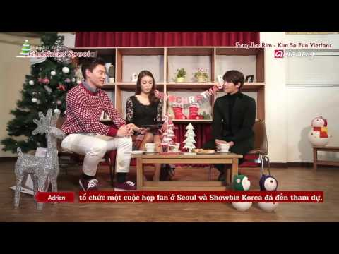 [Viet sub] Song Jae Rim 송재림 interview Christmas Special on S