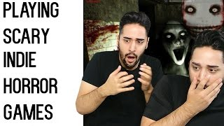 I Play Scary Indie Horror Games - Scariest Jump Scare Ever! ✖ James Welsh