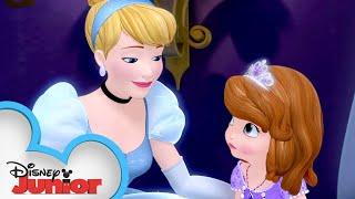 Sofia Meets Cinderella! 🏰   Sofia the First   Disney Junior